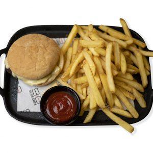Kids Cheeseburger+Fries
