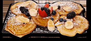 Broomfield Pancakes (V)