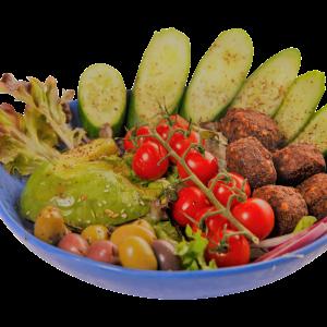 Falafel & Olives Salads (VG)