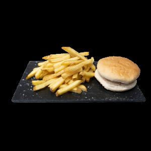 Kids Chicken burger+Fries