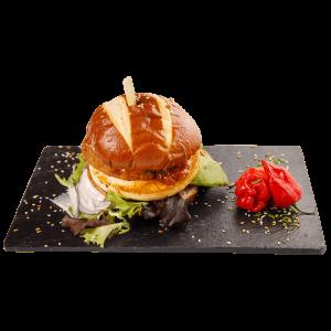 Halloumi Burger (V)